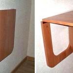 Как сделать откидной столик