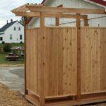 Как построить душ на даче своими руками. Поэтапная постройка душа