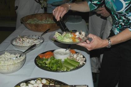 Мясной салат с фасолью рецепт с фото