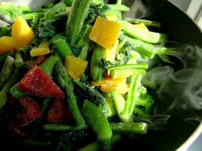Как готовить замороженные овощи и замороженные овощные смеси рецепты пошагово фото
