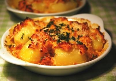 Картофель фаршированный мясом рецепты с фото