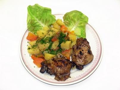 Картошка с мясом в мультиварке рецепты с фото