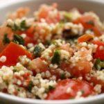 Приготовление салатов из овощей