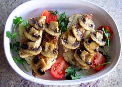 Мясо с грибами в мультиварке рецепты фото пошагово