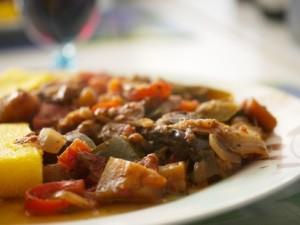 Баклажаны с мясом в мультиварке рецепты с фото