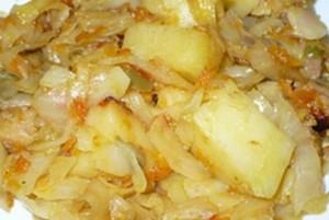Жареная капуста в мультиварке рецепты пошагово