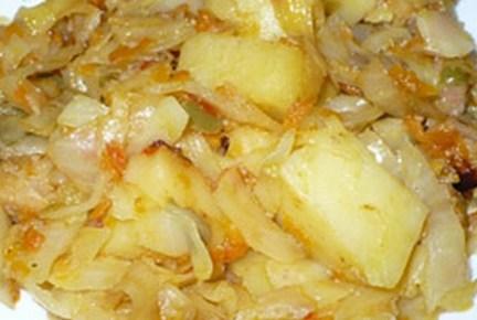 Жареная капуста в мультиварке рецепты с фото
