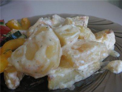 Картофель в сливках в мультиварке рецепты с фото