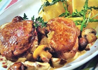 Свинина с грибами в мультиварке рецепты с фото