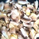 Замороженные грибы в мультиварке