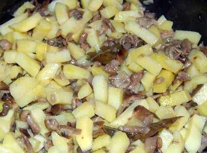 Шампиньоны с картошкой в мультиварке рецепты с фото