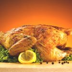 Курица с чесноком в мультиварке