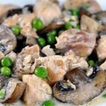Филе с грибами в мультиварке в соусе