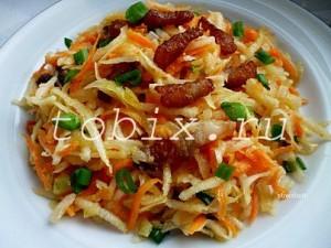 Салат из черной редьки рецепты