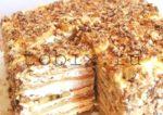 Торт из печенья без выпечки рецепты с фото