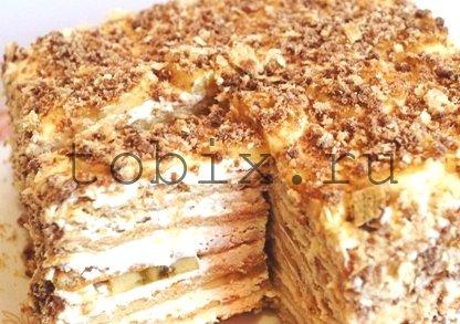 рецепты торт из печенья фото