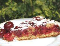 Пирог с вишней в мультиварке рецепты с фото